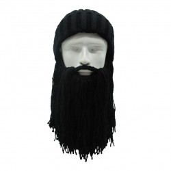 Viking Wool Beard & Hat Halloween Mask