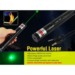 G301 Laser Pointer 532NM Burning Laser Kit