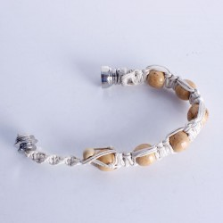 Jamaica Beads Bracelet Metal Smoking Pipe
