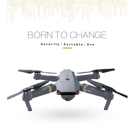 Eachine E58 WIFI FPV 2MP Camera Foldable RC Drone Quadcopter RTF