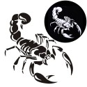 3D Scorpion Car Sticker