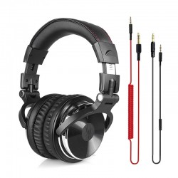 Professional DJ Studio Headphones Wired Stereo Headset