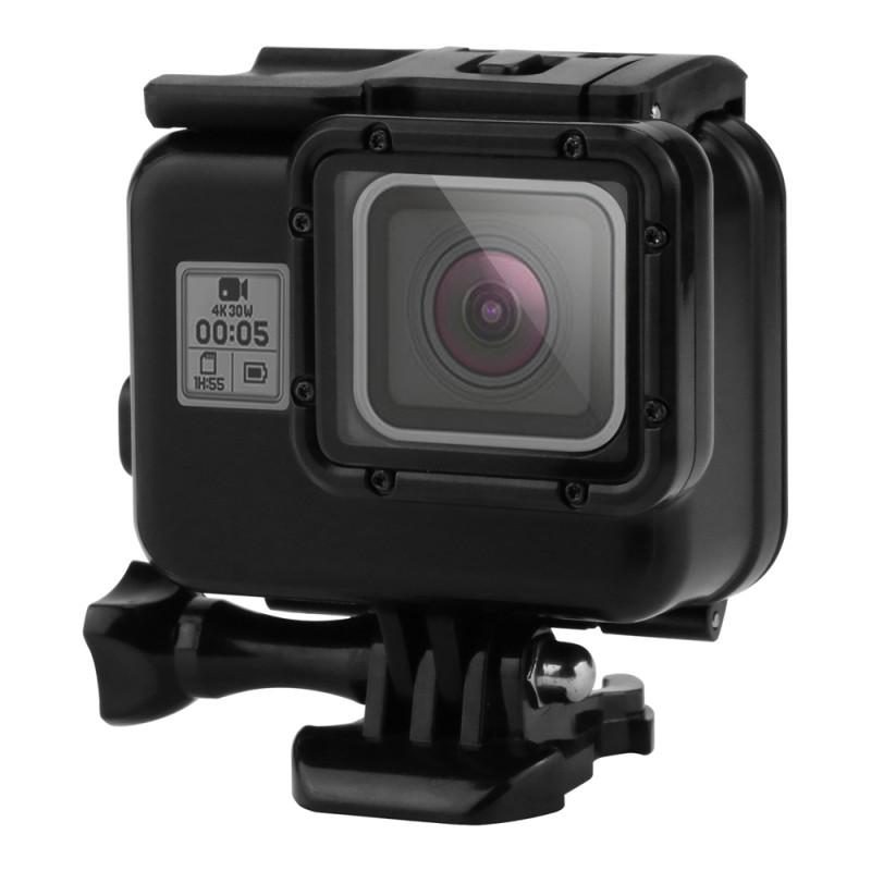 GoPro Hero 5 Black Edition 45m Underwater Waterproof Protective Cover Mount Case