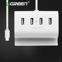 Ugreen USB C HUB 4 Anschlüsse  Super Geschwindigkeit  Schnittstellen-Splitter