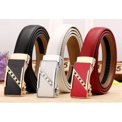 Fashion Automatic Buckle Leather Belt