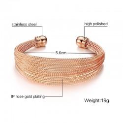 Multi Layer Cuff Bracelet