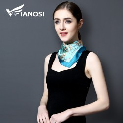Small Square Silk Scarf Neckerchief