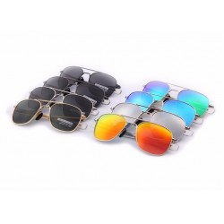 Men's Alloy Frame Polarized Sunglasses