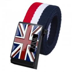Mode Engeland Stijl Canvas Riem Unisex