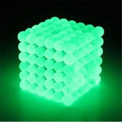 5mm Neodymium magneetballetjes magneten 216 Stuks Glow in the Dark