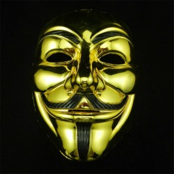 Anonymous Halloween Party Face Mask