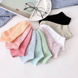 Candy Colors Cotton Socks 10 pairs