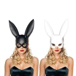 Face mask with rabbit ears - Halloween