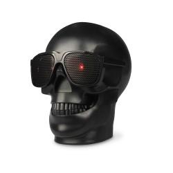 Plastic Skull Shape Wireless Bluetooth NFC Subwoofer Multipurpose Speaker