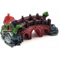 Aquarium - fish tank resin bridge - castle