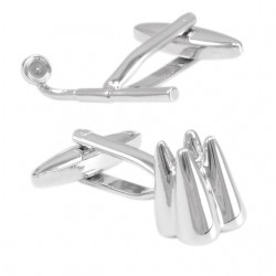 Magnifier & Tooth Shape Cufflinks