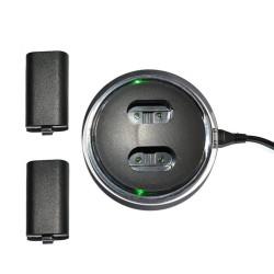 Xbox One Controller usb oplader incl. 2 batterijen - kabel - led