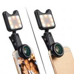 iPhone 3 in 1 Camera Wide Macro & Led Light Lens Kit