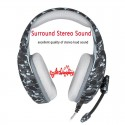 PS4 PC Computer Xbox One Camouflage Headphone Headset With Microphone