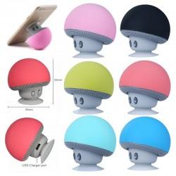 Mini Mushroom Wireless Bluetooth Speaker Waterproof
