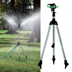 Water Sprinkler With Telescopic Tripod