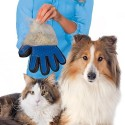 Dog Cleaning Massage Brush Hair Removal Glove