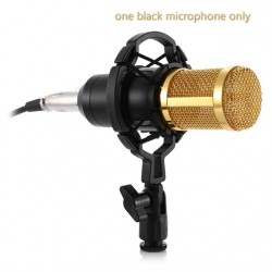 BM - 800 Dynamic Condenser Wired Microphone With Shock Mount