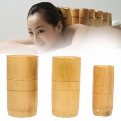 Traditionele chinese bamboe zuignapjes acupunctuur anti cellulitis massage set 3st