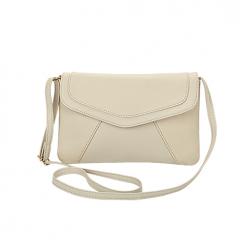 Vintage leather shoulder crossbody bag