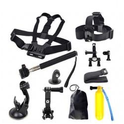 GoPro - Xiaomi Yi Action Camera + SJCAM SJ4000 accessories kit
