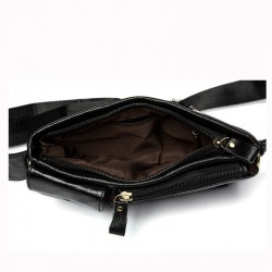 Genuine leather waist belt bag