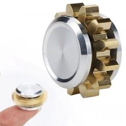 Mini-versnelling metalen hand fidget spinner