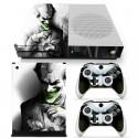 Xbox One Slim & Controllers joker vinyl skin sticker