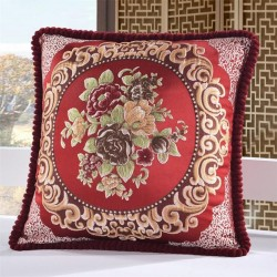 British embroidery pillowcase cushion cover cotton 50 * 50cm