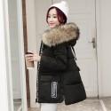 Winter loose hooded jacket