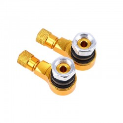 Universal aluminum car tyre air valve caps 2 pcs