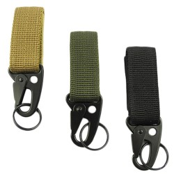 Outdoor camping tactical carabiner hook