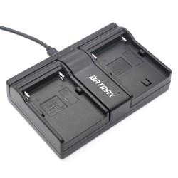 NP-F960 NP-F970 NP F930 Batterij Dual Oplader voor SONY F950 F330 F550 F570 F750 F770 MC1500C HD1000