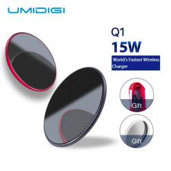 Samsung Galaxy S9 S8 S7 iPhone 8 / X / 8 Plus UMIDIGI Q1 15W wireless fast charger