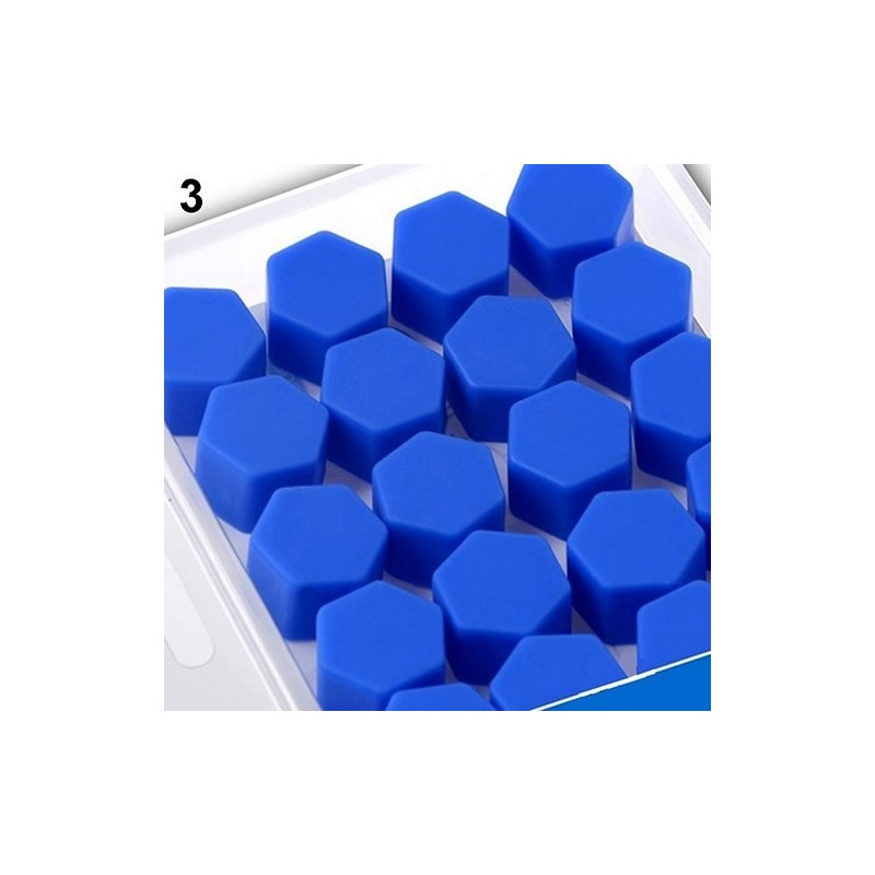 17mm car wheel bolt caps silicone covers 20 pcs