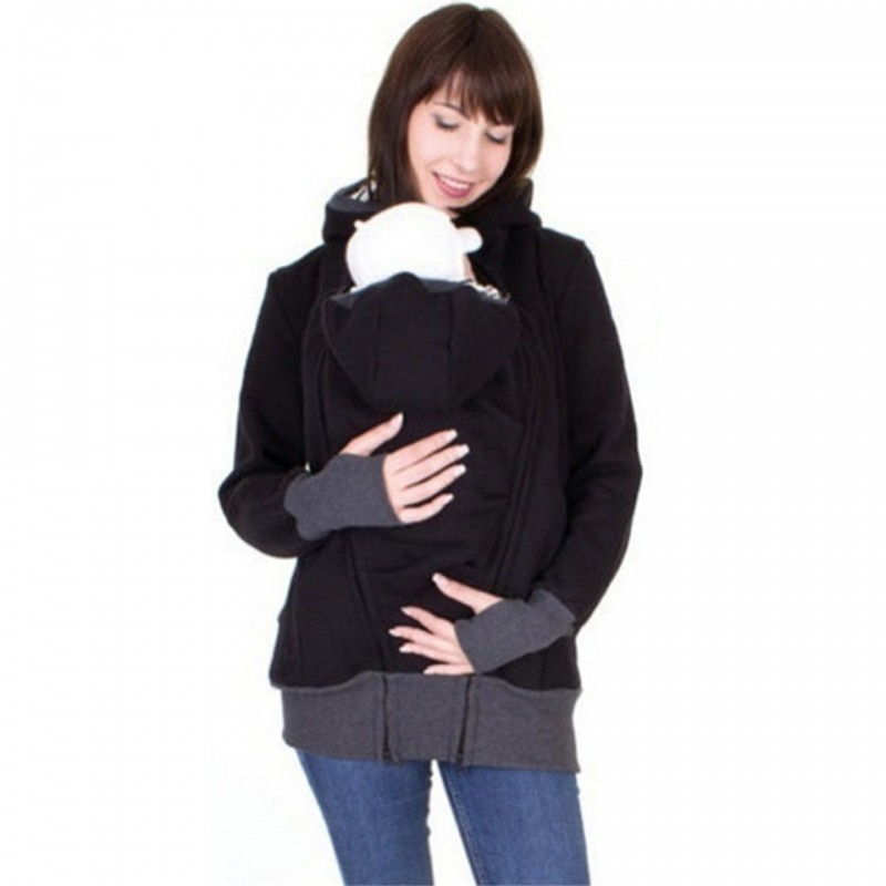 Kangaroo Pouch Hoodie Jacket Baby Carrier Hooded Store Netherlands