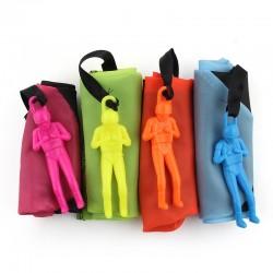 Parachute met soldaat figuur- handworp speelgoed 5 stuks