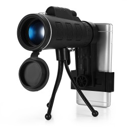 40 x 60 BAK4 HD mini monocular telescope with compass