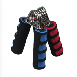 Hand gripper strength exercise with sponge grip