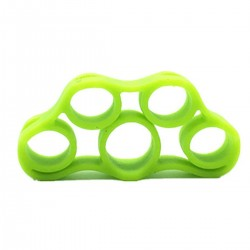 Silicone band finger trainer