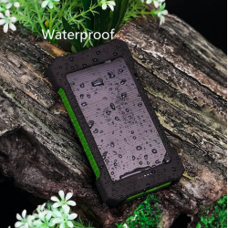 20000mAh dual USB waterproof solar power bank external battery
