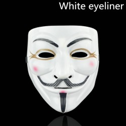 V for Vendetta party halloween face mask