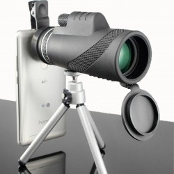40 x 60 HD monocular powerful binocular telescope with night vision