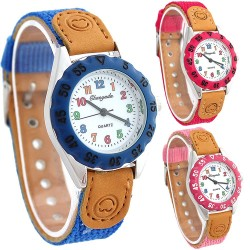 Boy - girls - kids Quartz sport watch