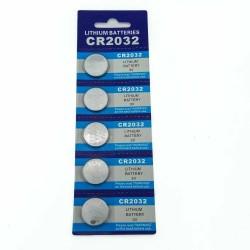JNKXIXI CR2032 BR2032 DL2032 ECR2032 CR 2032 3V lithium button battery 5pcs